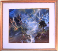 Have You Heard the Song of An Angel 1997 Limited Edition Print by Dale Terbush - 1