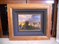 Shadows of Yesterday 1994 17x15 Original Painting by Dale Terbush - 1