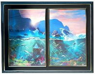 Sea of Light / All the Miracles to Sea (Diptych) Limited Edition Print by Dale Terbush - 1