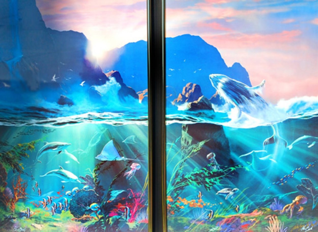 Sea of Light / All the Miracles to Sea (Diptych) Limited Edition Print by Dale Terbush