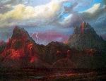 Anger in the Kofa Mountains 40x55 Original Painting - Dale Terbush