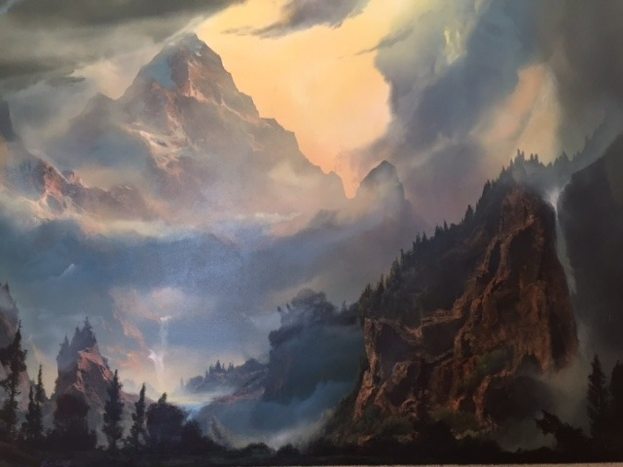 To Awaken the Light Within You 36x48 Super Huge Original Painting by Dale Terbush