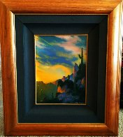 Southwest Glows in the Shadows 1992 25x29 Original Painting by Dale Terbush - 5