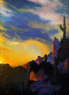 Southwest Glows in the Shadows 1992 25x29 Original Painting by Dale Terbush - 0