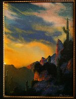 Southwest Glows in the Shadows 1992 25x29 Original Painting by Dale Terbush - 1