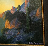 Southwest Glows in the Shadows 1992 25x29 Original Painting by Dale Terbush - 6