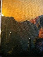 Southwest Glows in the Shadows 1992 25x29 Original Painting by Dale Terbush - 7