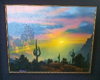 Southwest By My Way of Thinking 1991 29x33 Original Painting by Dale Terbush - 5
