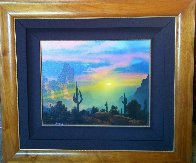 Southwest By My Way of Thinking 1991 29x33 Original Painting by Dale Terbush - 4