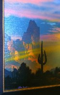 Southwest By My Way of Thinking 1991 29x33 Original Painting by Dale Terbush - 6
