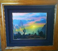Southwest By My Way of Thinking 1991 29x33 Original Painting by Dale Terbush - 3