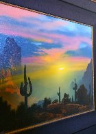 Southwest By My Way of Thinking 1991 29x33 Original Painting by Dale Terbush - 7