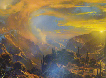 Beyond My Dreams 1995 50x61 Original Painting by Dale Terbush