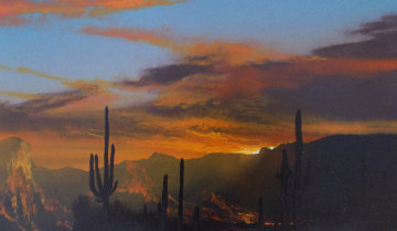 Where Enchantment Whispers 2000 12x16 Original Painting by Dale Terbush