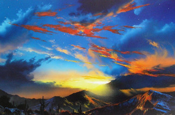 Birth of the Sun AP  with Remarque Limited Edition Print by Dale Terbush