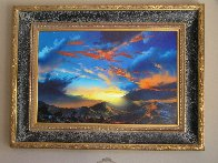 Birth of the Sun AP  with Remarque Limited Edition Print by Dale Terbush - 1