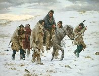 Chief Joseph Rides to Surrender Limited Edition Print by Howard Terpning - 0