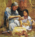 Teachings of My Grandmother 2003 Limited Edition Print - Howard Terpning