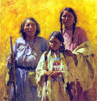 Three Generations 2004 Limited Edition Print by Howard Terpning