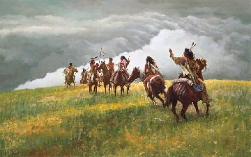 Thunder Speaks 2002 Limited Edition Print by Howard Terpning