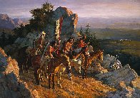 Gold Seekers to the Black Hills AP 1996 Limited Edition Print by Howard Terpning - 0