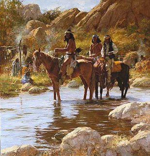 Soldier Hat 1993 Limited Edition Print by Howard Terpning