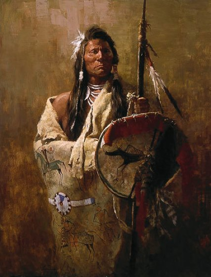 Status Symbols 1982 Limited Edition Print by Howard Terpning