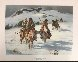 When Trails Turn Cold  AP 1973 Limited Edition Print by Howard Terpning - 1