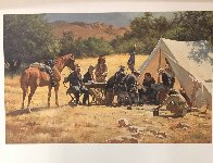 Field Headquarters Arizona   Teritory 1885 AP 1979 Limited Edition Print by Howard Terpning - 1