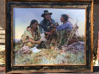 Found on the Field of Battle 30x38 Super Huge  Limited Edition Print by Howard Terpning - 3