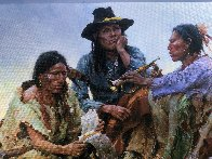 Found on the Field of Battle 30x38 Super Huge  Limited Edition Print by Howard Terpning - 1