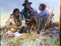 Found on the Field of Battle 30x38 Super Huge  Limited Edition Print by Howard Terpning - 2
