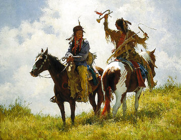 The Trophy Limited Edition Print - Howard Terpning