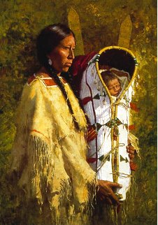 Pride of the Cheyenne 1988 Limited Edition Print - Howard Terpning