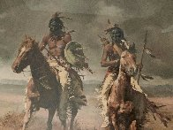 Victors 1981 Limited Edition Print by Howard Terpning - 2