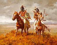 Victors 1981 Limited Edition Print by Howard Terpning - 0