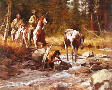 Nectar of the Gods 2007 Limited Edition Print - Howard Terpning