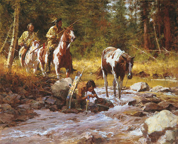 Nectar of the Gods Limited Edition Print by Howard Terpning