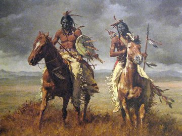Victors 1981 Limited Edition Print - Howard Terpning