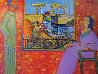 Happy Holidays, Vacation in Arles, France 1992 30x40 Original Painting by Dr. T.F. Chen - 0