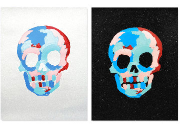 Skulls PP 2020 Limited Edition Print - Bradley Theodore