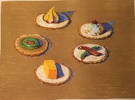 Crackers 2005 Limited Edition Print by Wayne Thiebaud - 1