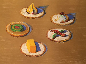 Crackers 2005 Limited Edition Print - Wayne Thiebaud