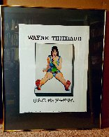 U.S.C. Exhibition Poster (Girl With Ice Cream Cone) 1977 HS Limited Edition Print by Wayne Thiebaud - 1