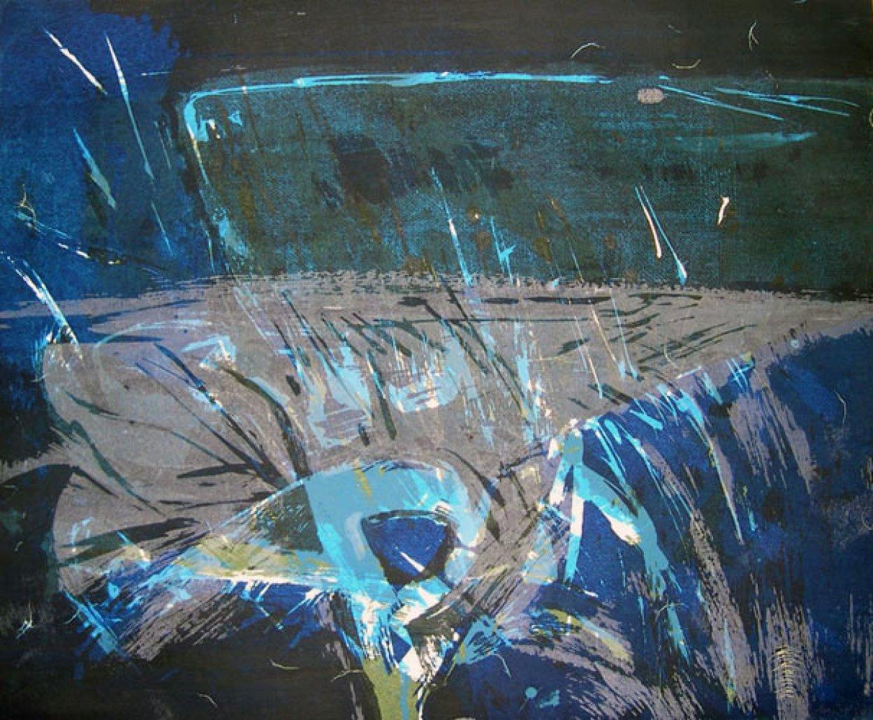 Sea Thing  1959 Limited Edition Print by Wayne Thiebaud