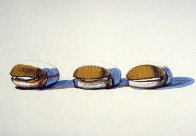 Barbeque Beefs 1970 Limited Edition Print by Wayne Thiebaud - 0