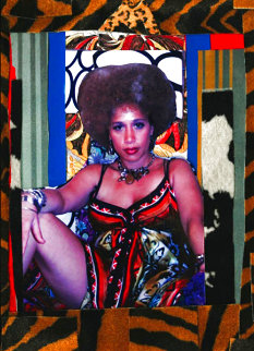 High Priestess  2015 Limited Edition Print - Mickalene Thomas