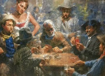 Draw Poker Limited Edition Print by Andy  Thomas