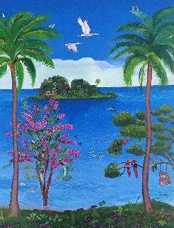 Island of Love  2004 Limited Edition Print - Margaret Thorn