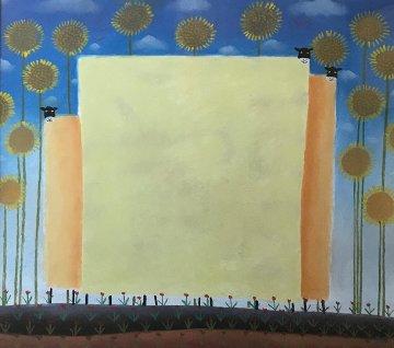 Where Love Goes Pastel 1988 (Early) 36x38 Original Painting by Mackenzie Thorpe